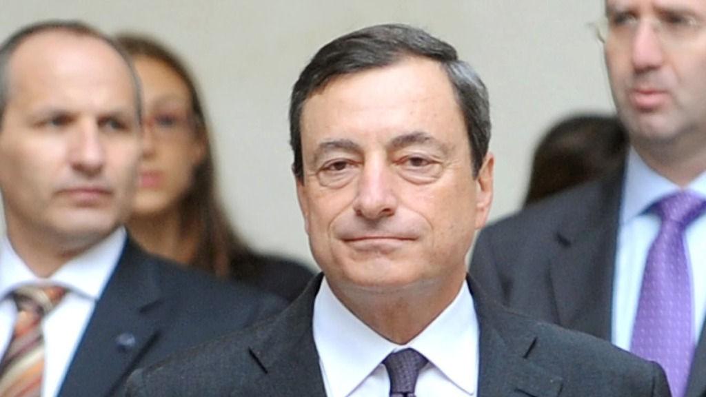 Mario Draghi, sjef for Banca d'Italia og FSB, Financial Stability Board