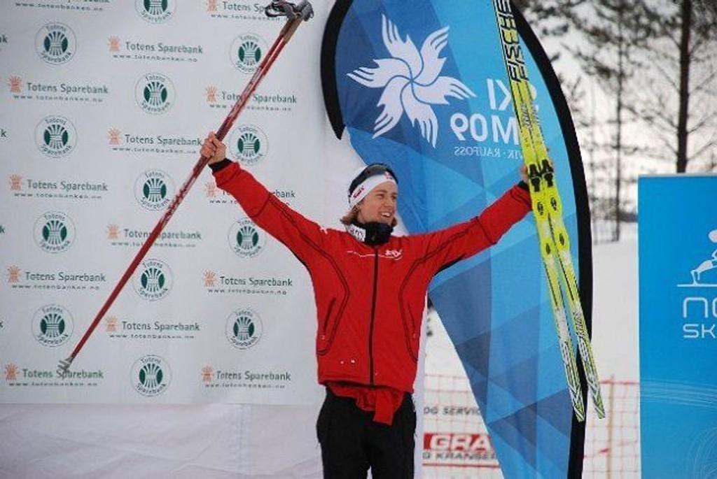 Ole Christian Wendel fra Heming er klar for sin OL-debut. FOTO: PRIVAT