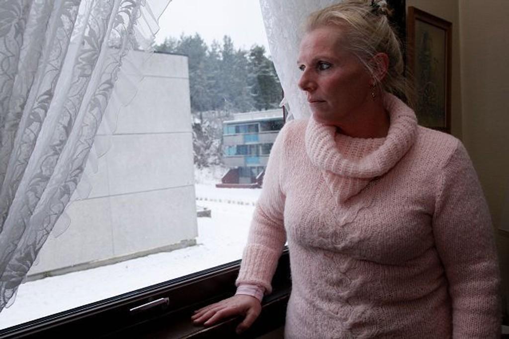 Gro Adolfsen har fått pantsatt leiligheten sin etter en parkeringstvist med Forsheimer borettslag på Stovner. Foto: Anita L. Hanken.