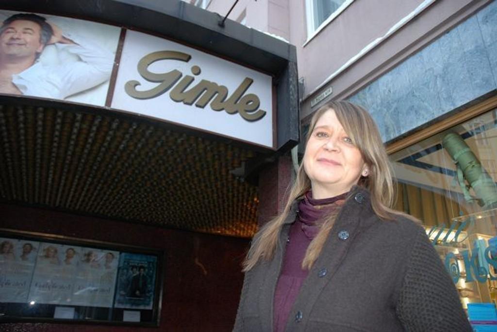 Filmsjef Christin Berg ønsker folket velkommen til Gimle filmfest fra 4. februar. Foto: Anne Marie Huck Quaye