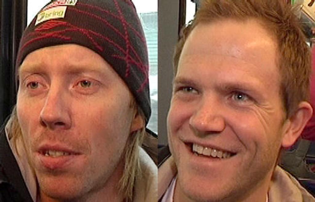 Børge Lund (t.v.) og Kjetil Strand er mesterskapsklare og innstilt på å hjelpe det norske håndballandslaget til en historisk EM-semifinale.