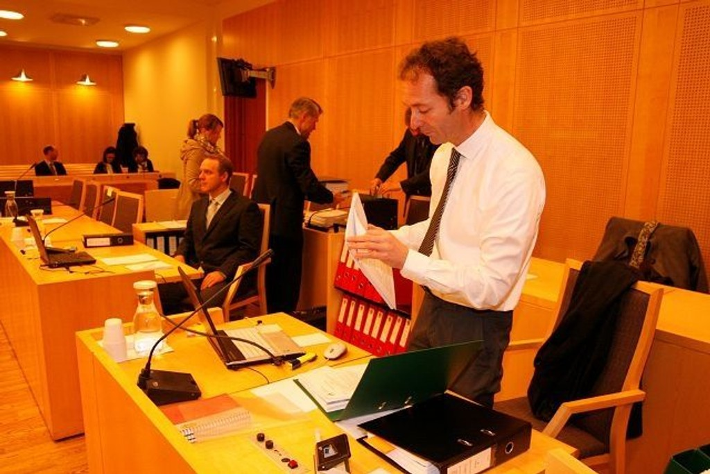Etter syv uker i retten er Carl Graff Hartmann fornøyd med at Secora og NGI er dømt, nå sendes dommen til statsadvokaten for vurdering. Foto: Øystein Dahl Johansen