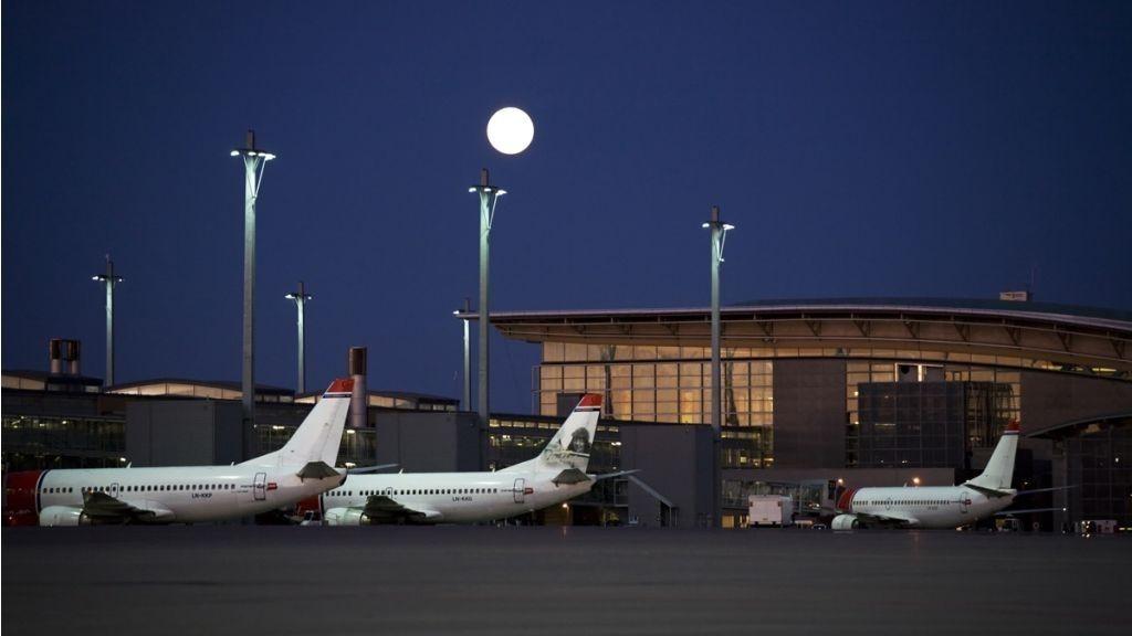 Oslo Lufthavn Gardermoen, OSL, Norwegian