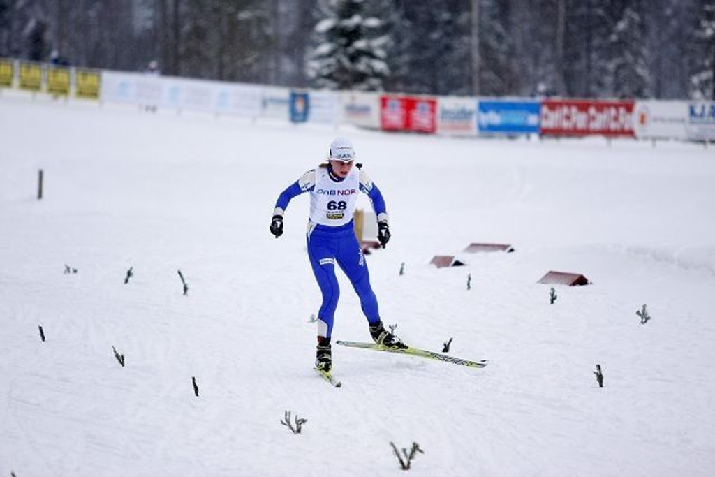 I OL: Astrid Uhrenholdt Jacobsen, Heming. Arkivfoto