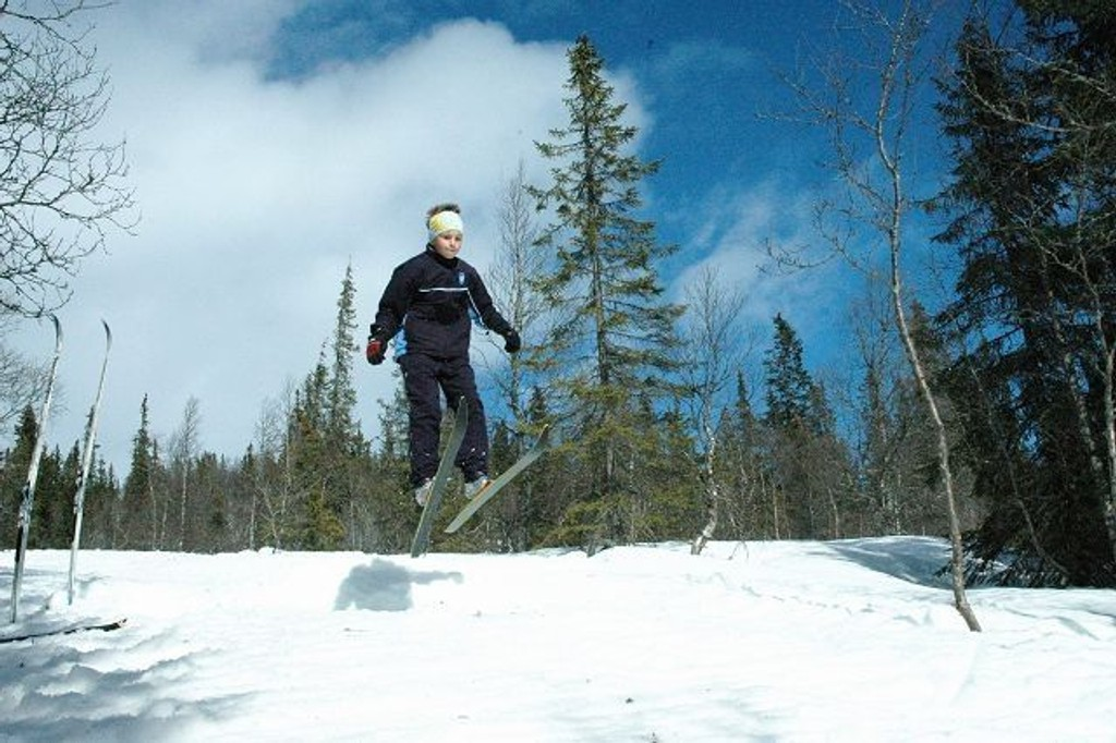 Mulighetene for en aktiv vinterferie i Oslo er mange! Foto: Vidar Bakken