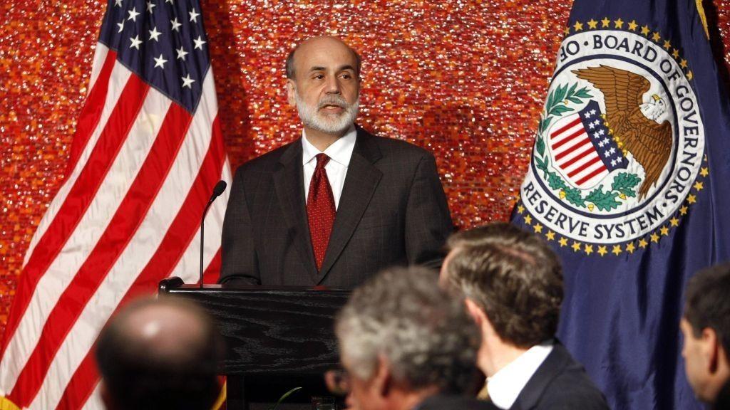 Federal Reserve, sentralbanksjef, Ben Bernanke, USA
