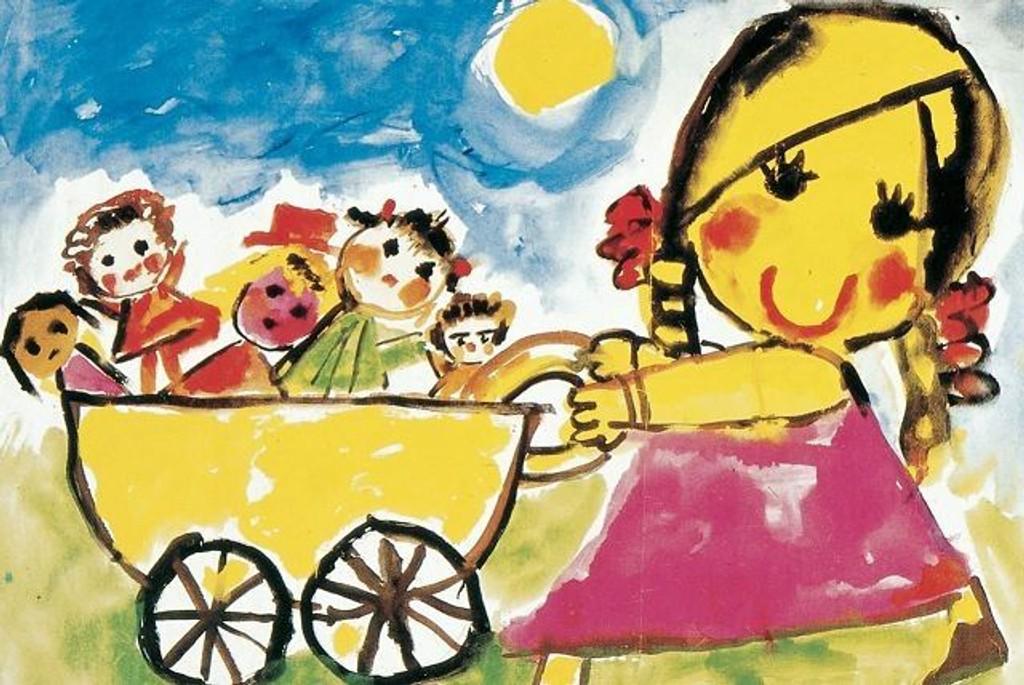 I mars kan det lønne seg å ta turen innom Barnekunstmuseet. FOTO: UTLÅNT