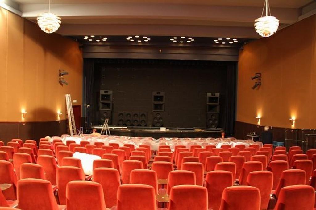 Slik så det ut på Gimle Kino uten det tradisjonelle kinolerreteti forrige uke. Foto: Anne Marie Huck Quaye