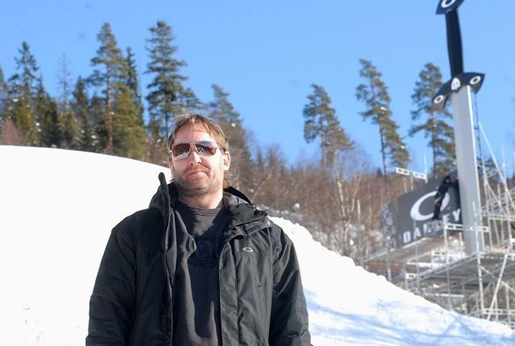 Henning Andersen, daglig leder for TAC, er spent før årets utgave av den store snowboardkonkurransen.