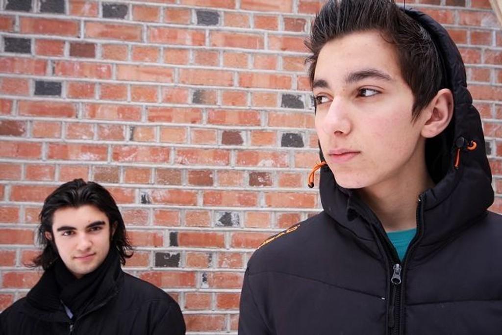 TO GODE KONKURRENTER: Ertan Uzun og Sebastian «Sebbe» Johnsen Salih spiller begge på Cosmopolite i kveld. FOTO: MAREN THORSEN BLESKESTAD