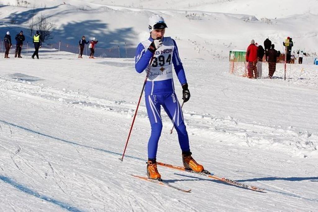 Eirik Jonas Blomseth fra Lillomarka i G15.