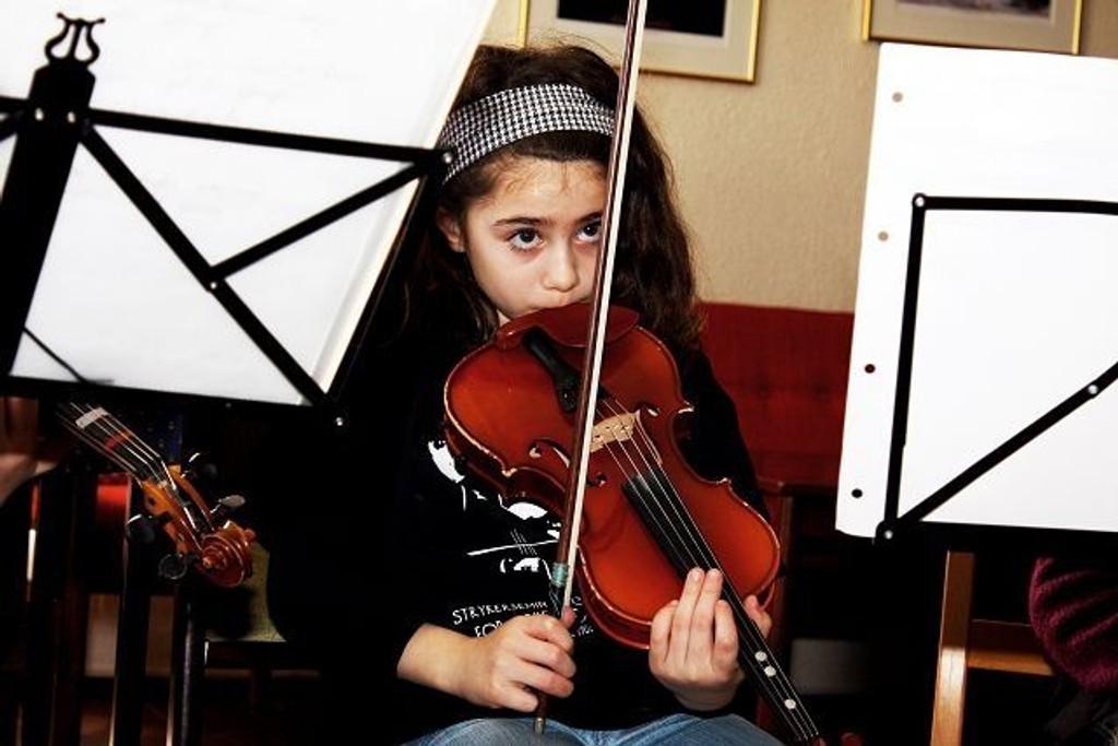 Det koster krefter å spille fiolin.