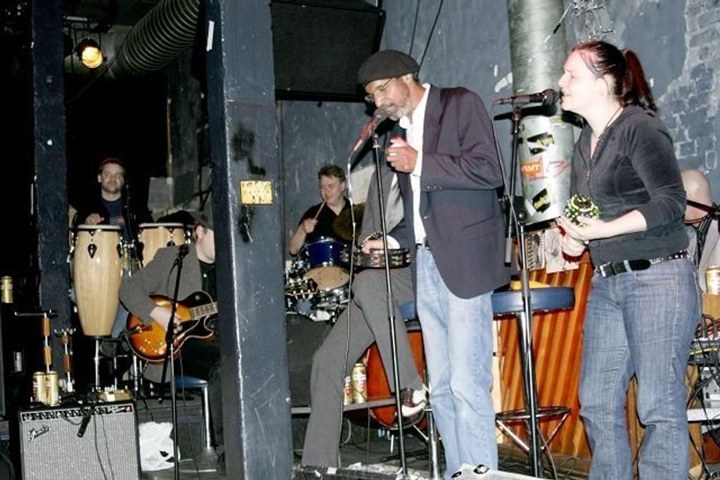 Kultbandet Frank Znort Quartet spiller gratis på Blå hver eneste søndag. ARKIVFOTO