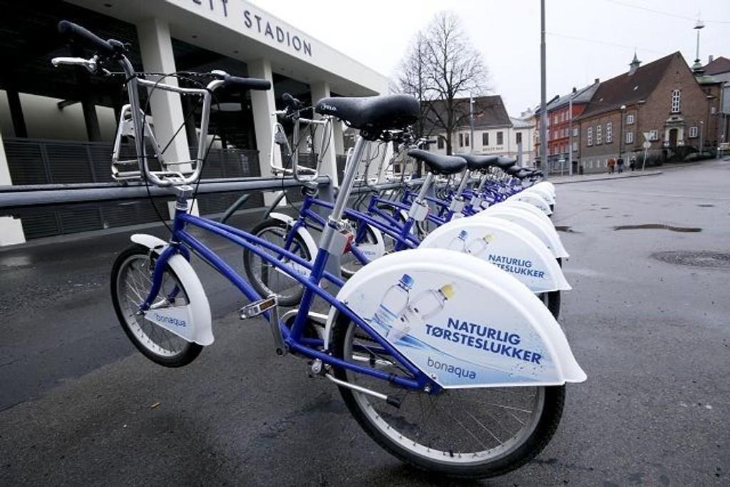 Tirsdag 6. april er igjen de blå bysyklene tilbake i Oslos gater. ARKIVFOTO: HEGE BJØRNSDATTER BRAATEN
