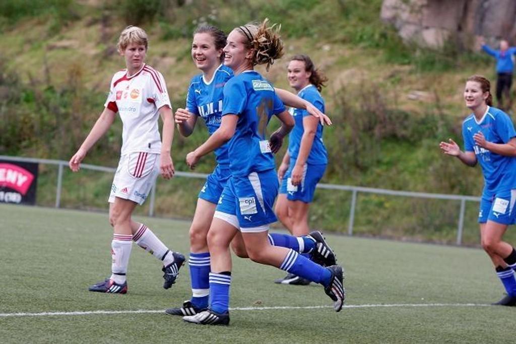 Det ble mange jubelstunder for LGT i 1. divisjon i fjor. Nå håper laget på mer jubel i Toppserien.