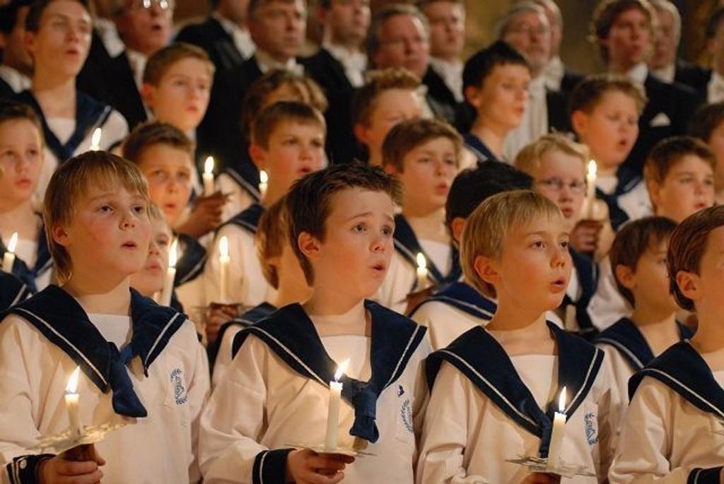 Sølvguttene synger på søndag. FOTO: NRK