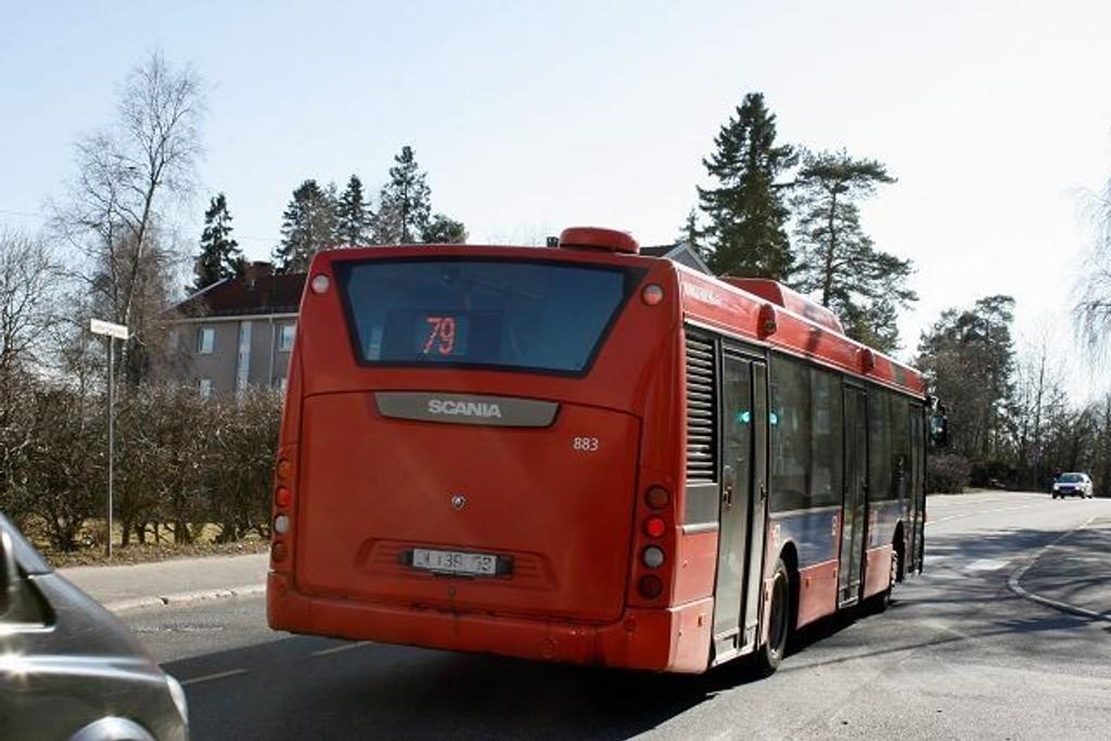 Dermed går bussene som normalt. FOTO: Kristin Trosvik