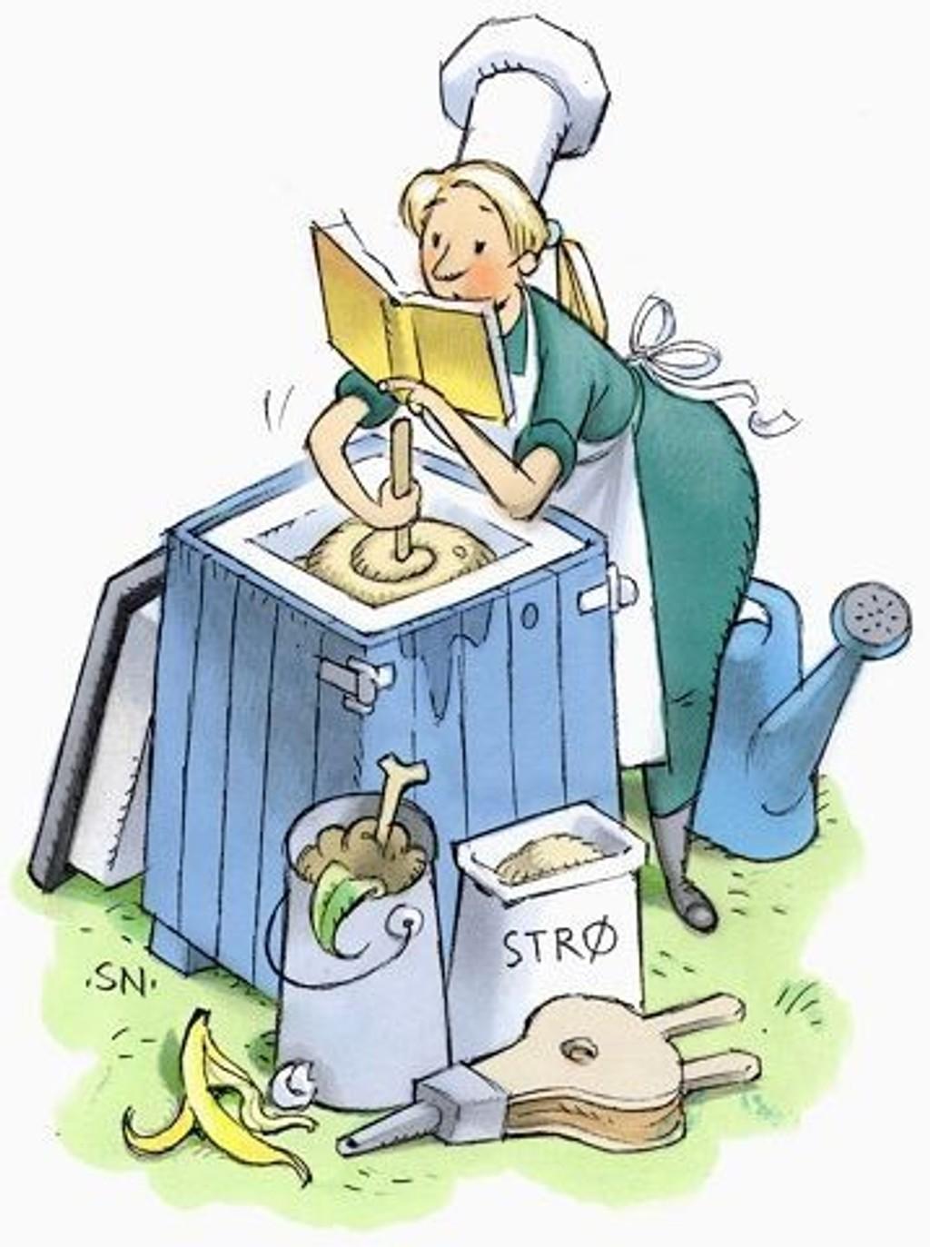 Du kan lære alt om kompostering på kurs i Nydalen.