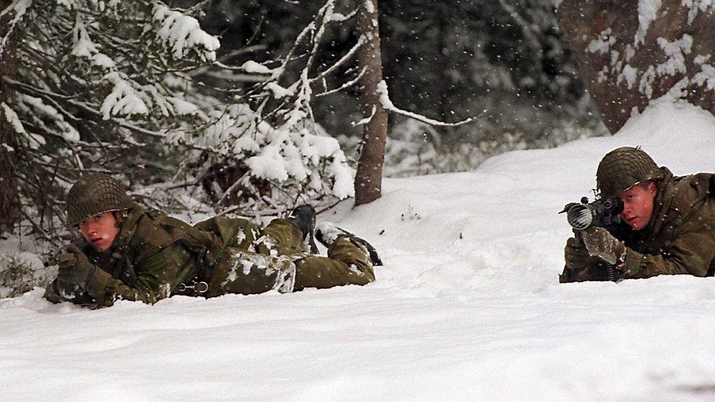 GJENNOMSNITTET SVAKT: Gjennomsnittet av soldater i fjorårets inntak til forsvaret hadde for dårlig form.