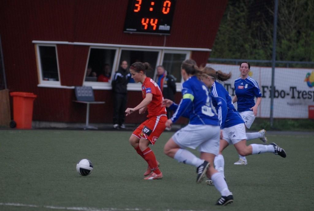 Guro Knutsen Mienna og Røa tok en enkel seier mot Kattem.