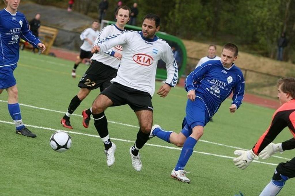 Mahmod Hejazi puttet på tre ganger mot Oppsal i lørdagens lokaloppgjør.