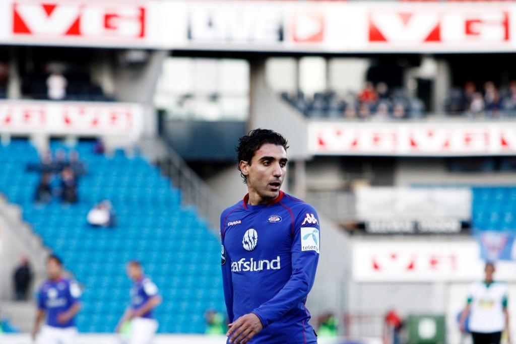 Mohammed Abdellaoue scoret Vålerengas andre mål mot Aalesund.