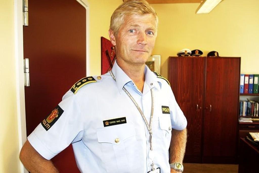 Stasjonssjef Espen Aas. Arkivfoto.