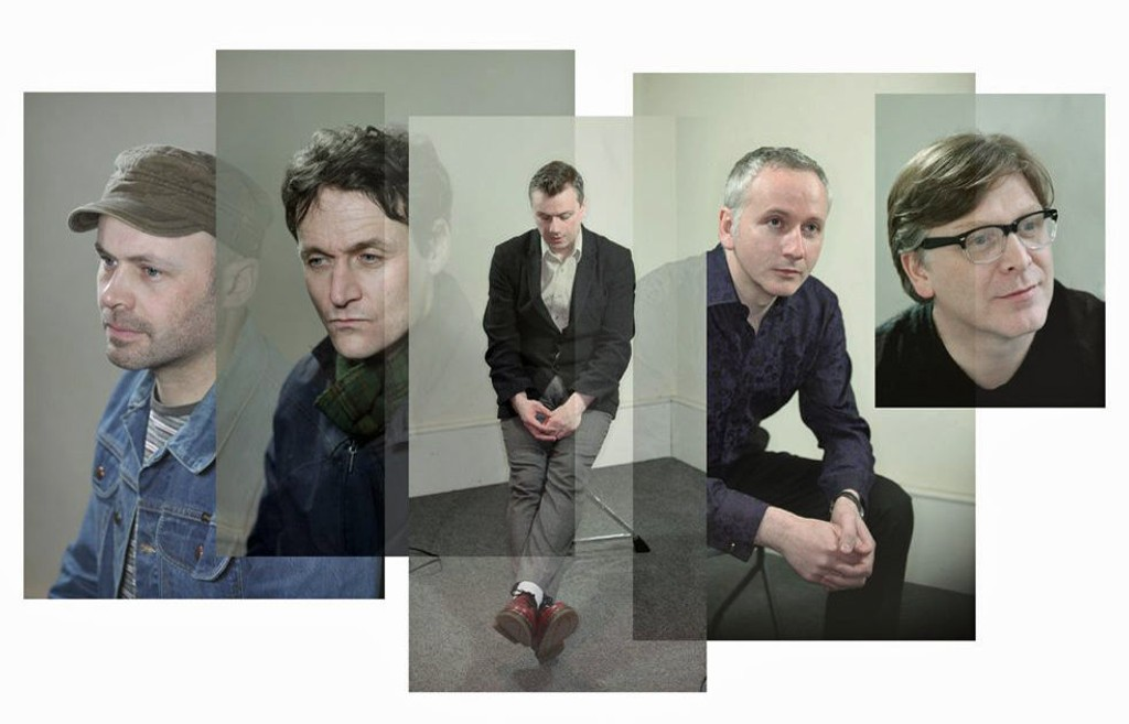 David McGowan (t.v.), Gerard Love, Francis Macdonald, Raymond McGinley og Norman Blake utgjør et av verdens mest demokratiske band.