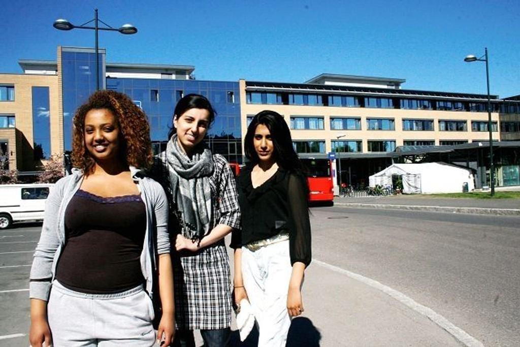 Magdalena Amal, Annum Saher Islam (leder) og Anita Bhagat fra Alna ungdomsråd etterlyser flere natteravner.