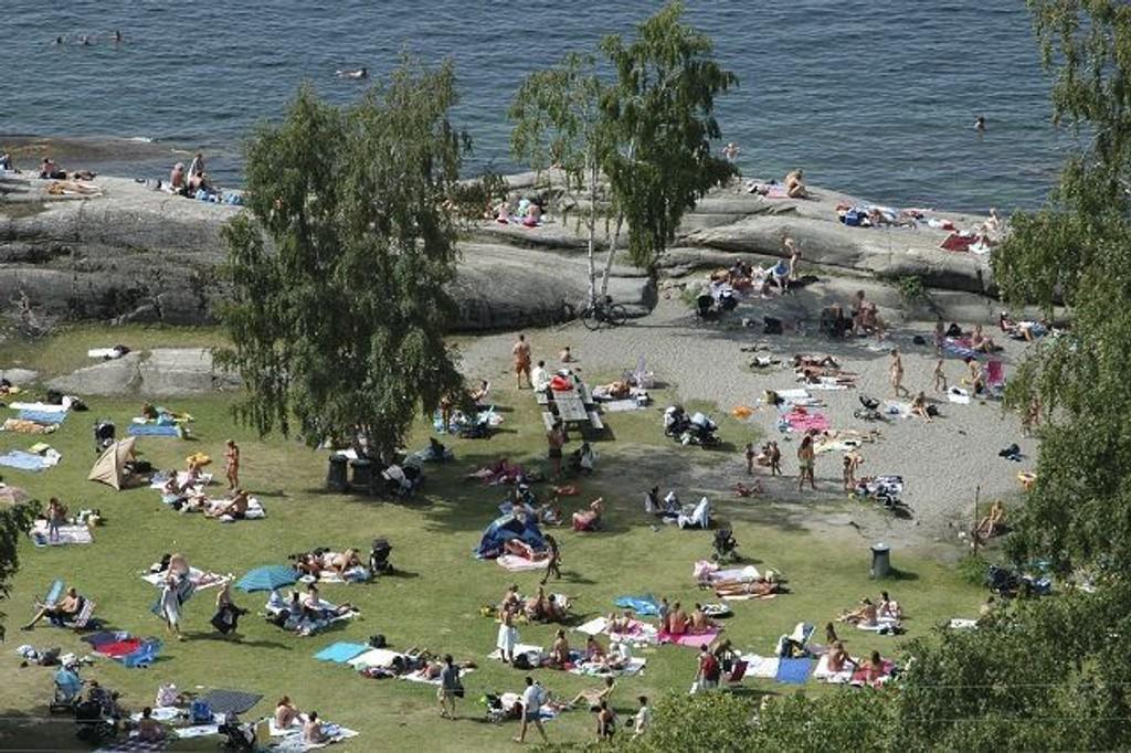 Oslo kommune har kjøpt Mosseveien 245 og skal nå utvide Katten til å bli en større strand.
