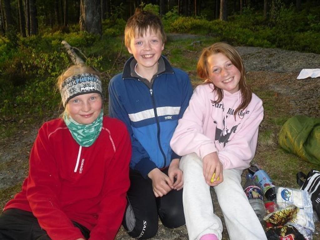 Fra venstre; Celine, Gjermund og Ingvill. Foto: Privat (TRYKK PÅ BILDET FOR Å SE FLERE)
