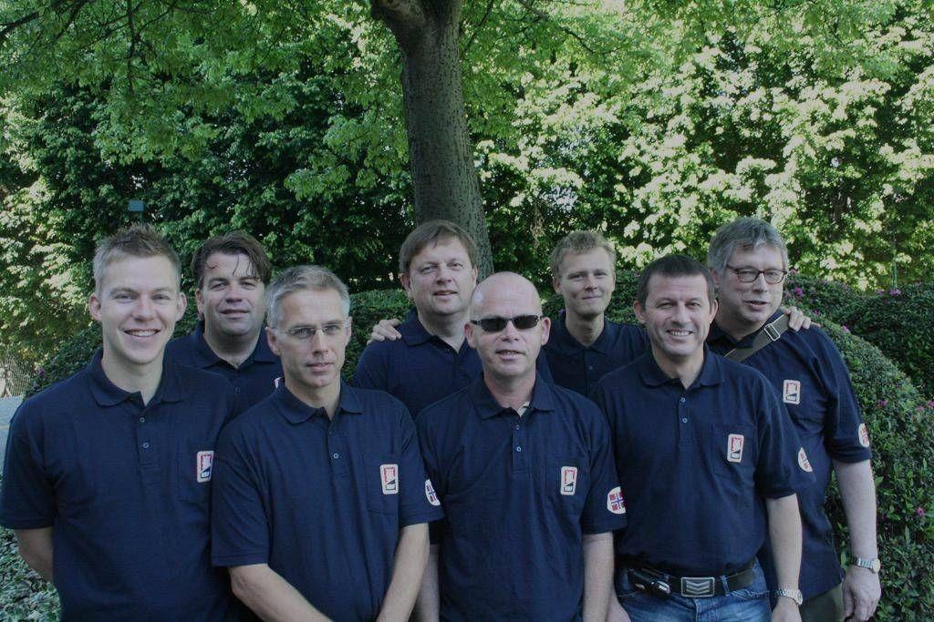 Verdensmestrene i åpen klasse fra 2009 består utelukkende av menn. Boye Brogeland(t.v.) er eneste spiller fra dette laget som deltar i årets EM.