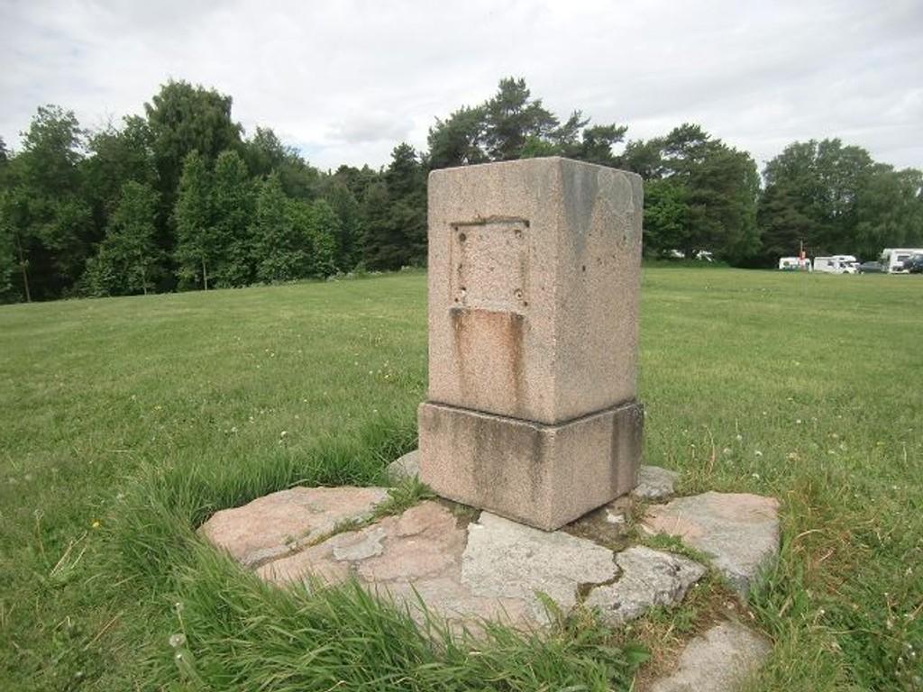 Støtten på Ekeberg trenger sårt en restaurering.