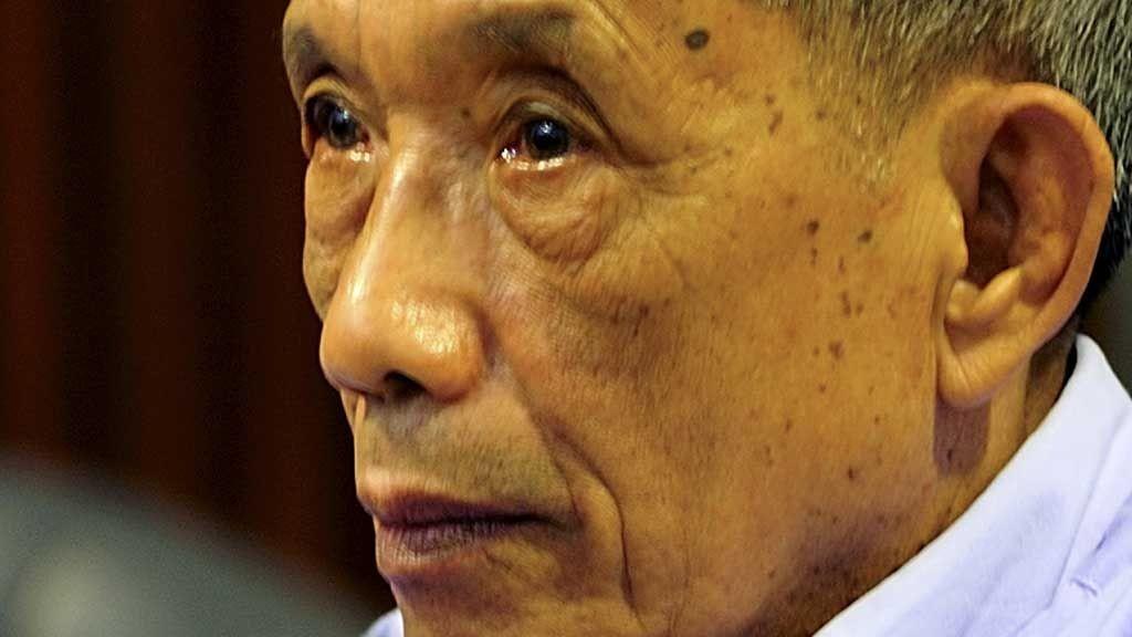 Kaing Guek Eav, alias Duch, er dømt til 35 års fengsel for forbrytelser mot menneskeheten.