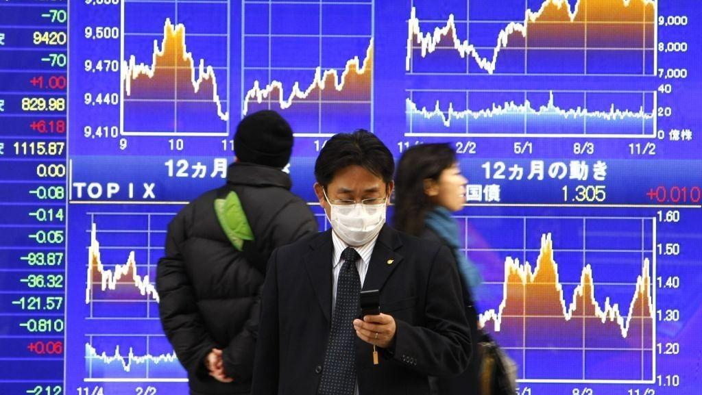 Nikkei, Asia-børser