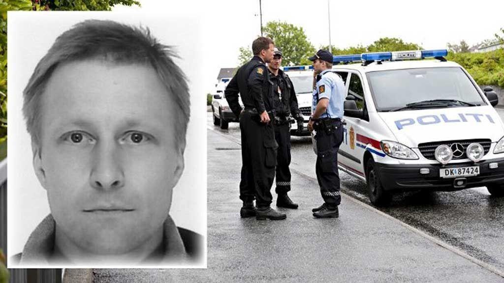 Trond Kristian Johannessen segnet om på et busstopp i Laksevåg 25. juni.