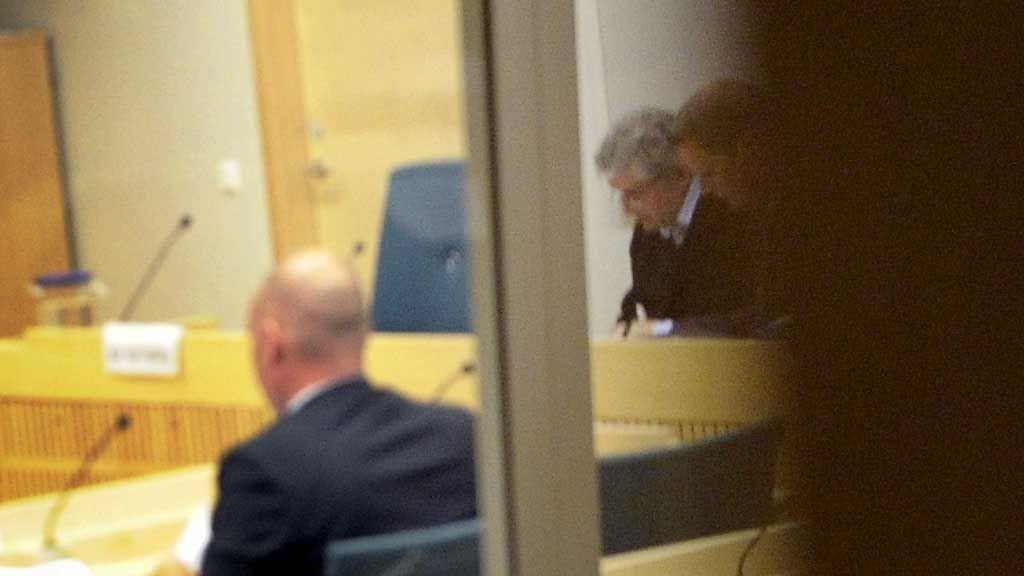 DØMT: Tidligere politisjef i Uppsala, Göran Lindberg, ble dømt til seks og halvt års fengsel i Södertörns tingrett fredag.