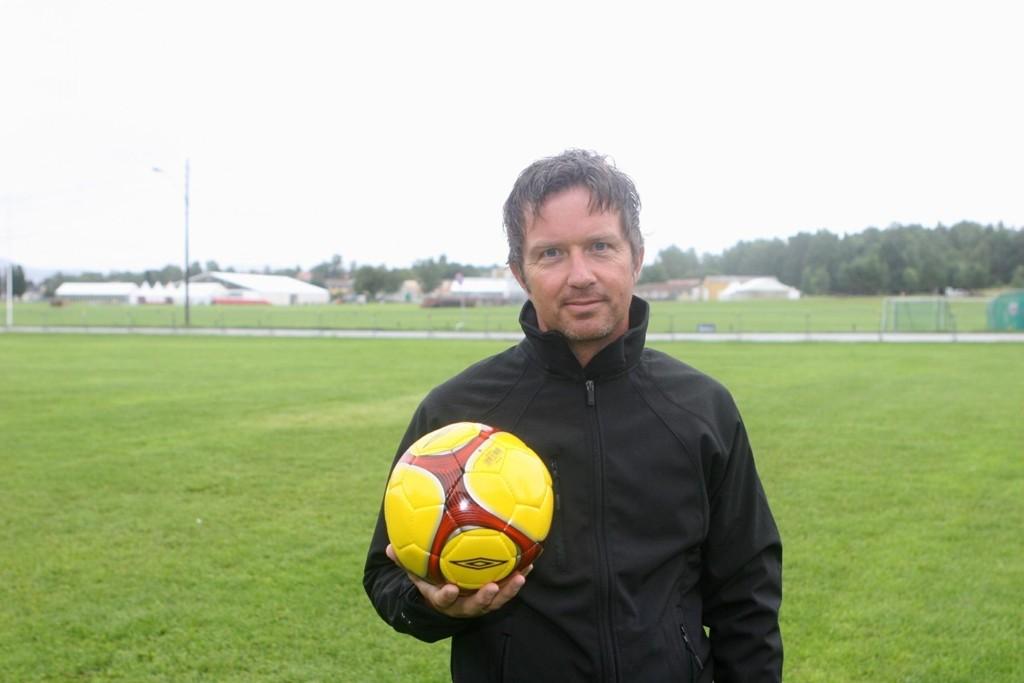 Ekeberg-mannen Terje Lund (45) gleder seg til turneringsstart søndag.