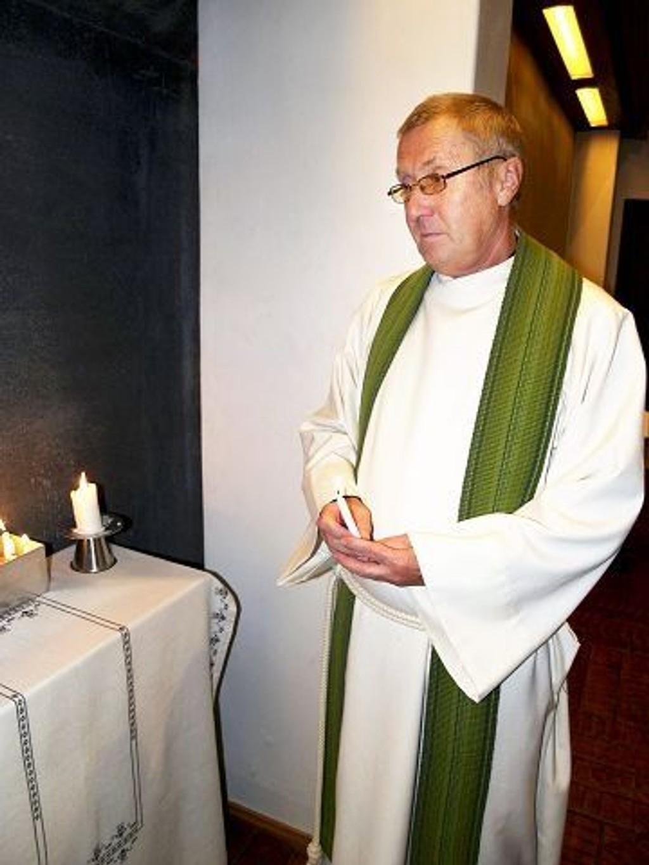 Prest Knut Sand Bakken skriver om døden.