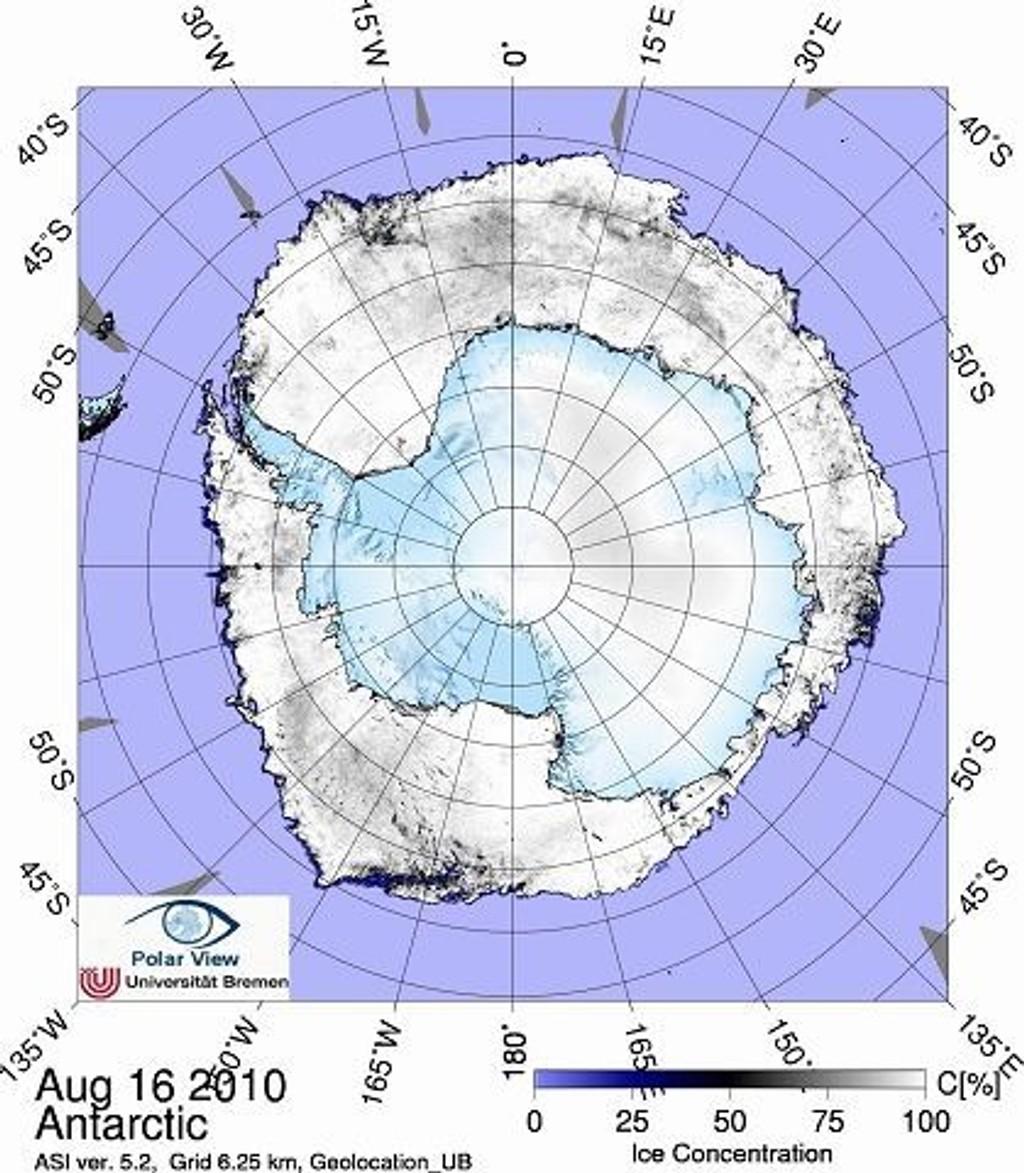 Isen når maksimum i midten av september og det går mot ny solid isrekord i år, mener Per Jan Langerud.