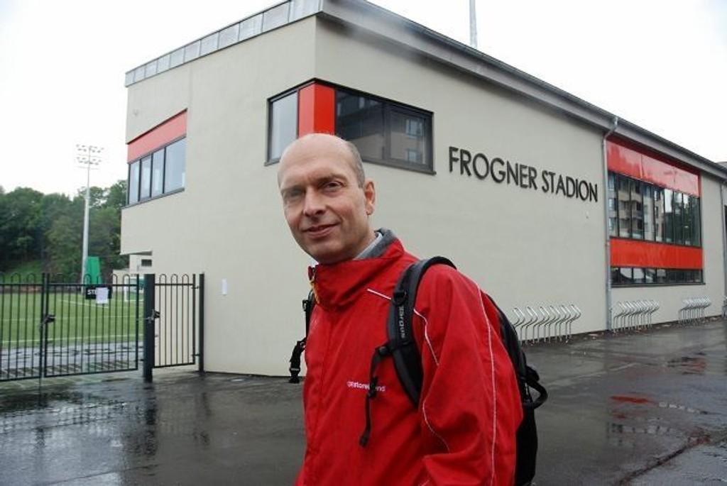 Bjørn Solheim ønsker svømme og fleridrettsanlegg på Frogner stadion.