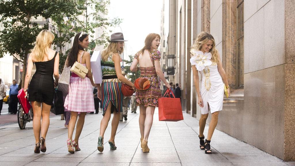 Følg jentene i Sex and the city gjennom New Yorks gater.