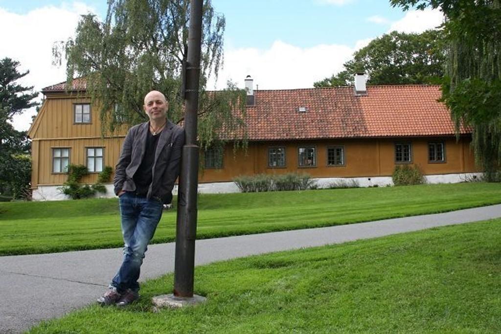 VAKKERT NABOLAG: Botanisk Hage er et av stedene for hendelser i Håvard Syvertsens siste bok Det Håndgripelige. FOTO: ELLEN RØNNING