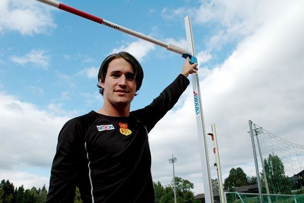 KristofferNilsen hoppet utrolige 2,21 under årets friidretts-NM.