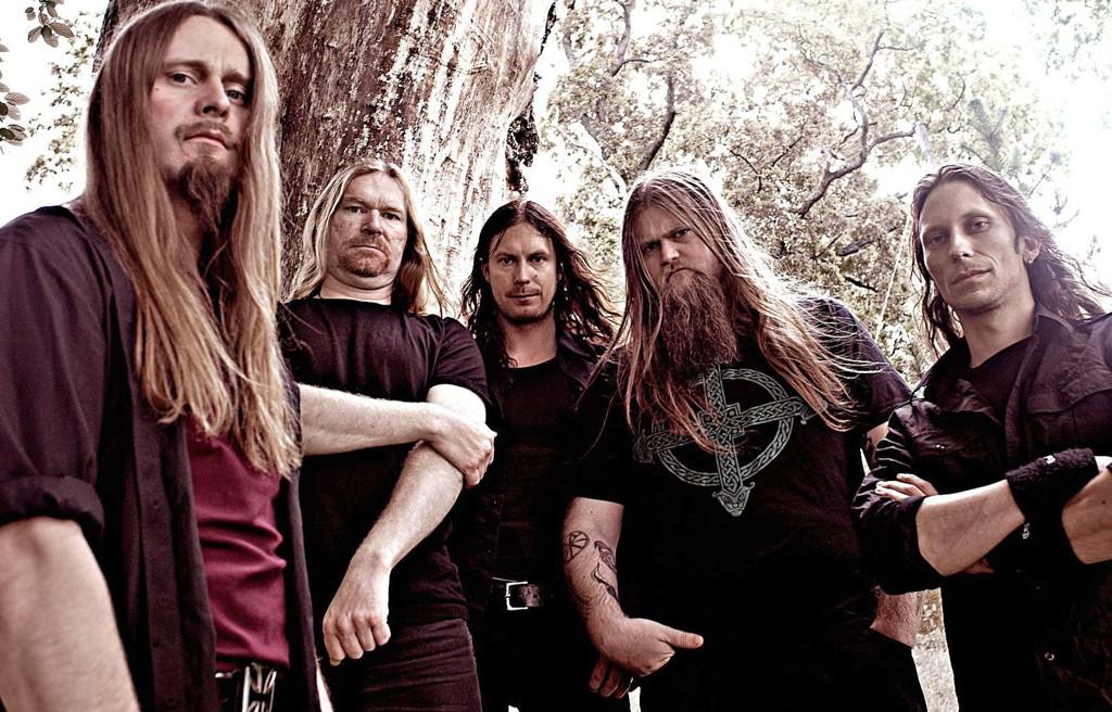 Enslaved brukte lang tid på innspilling og produksjon. Fra venstre: Grutle Kjellson, Cato Bekkevold, Arve Isdal, Ivar Bjørnson og Herbrand Larsen.