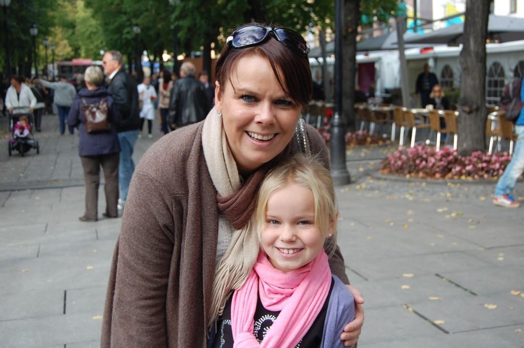 Anniken Hagen og Sunniva Hagen Stavseth.