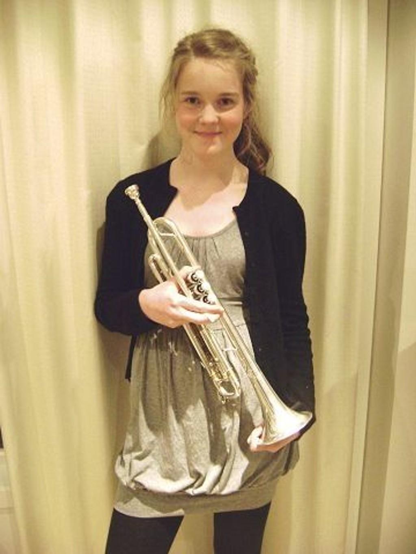 Allerede søndag 26. september er høstens første kultursøndag i gang. Blant dem som spiller er det lokale trompettalentet Malene Fosli Flataker.