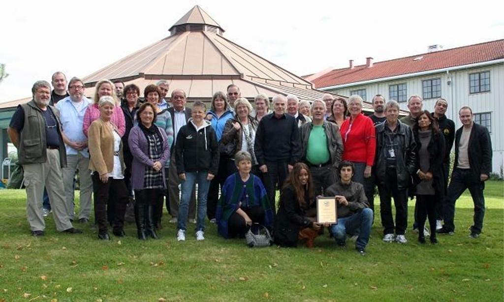 Deltakerne på Stiftelsen Holmlia Nærmiljøs årlige seminar på Klækken hotell.