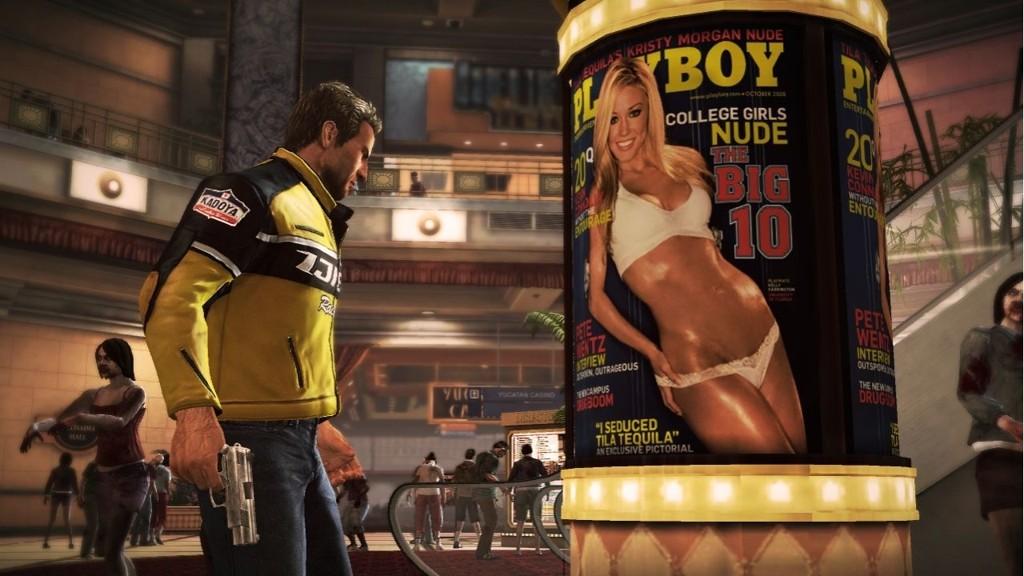 Dead Rising 2 er en vill splatter med både Playboy-bunnies og svart humor bak blodtåka.