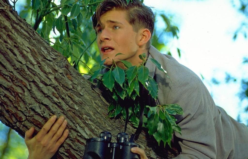 Crispin Glover spiller George McFly i Robert Zemeckis' 'Tilbake til fremtiden» (1985), som relanseres i Blu-ray-format 27. oktober.